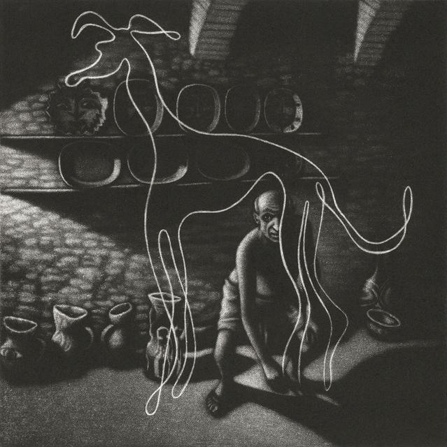 , 'Picasso's Dog ,' 2018, Sarah Wiseman Gallery