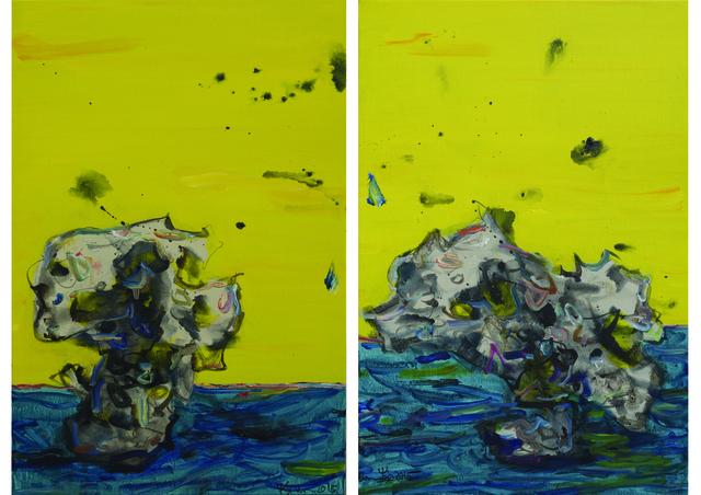 , 'Microcosm Series - Yellow 2 (Diptych),' 2015, ArtCN