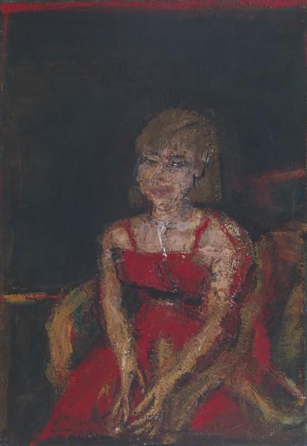 , 'Bildnis F.,' 1987, Galerie Michael Haas