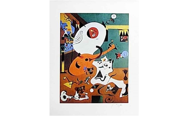 Joan Miró, 'Dutch Interior', 1928, Leviton Fine Art