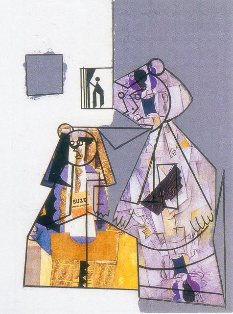 , 'El cubismo como pretexto VI,' 2003, Beck & Eggeling