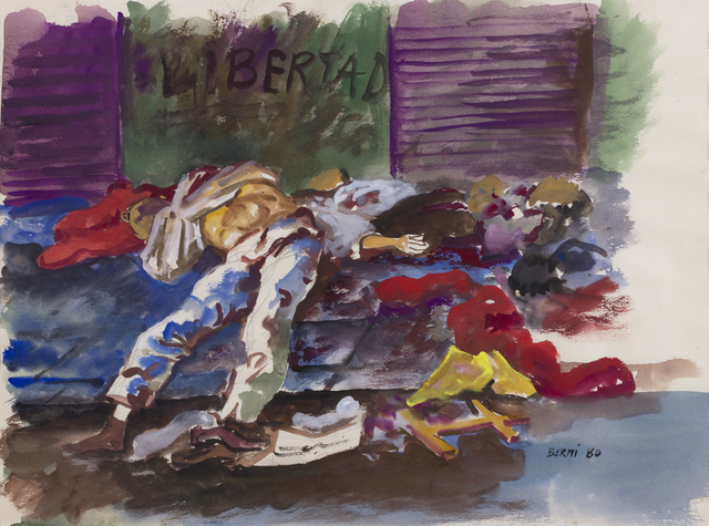 """, 'Libertad. De la serie """"Dictaduras del Cono Sur, Terrorismo de Estado en Argentina"""",' 1980, Cosmocosa"""