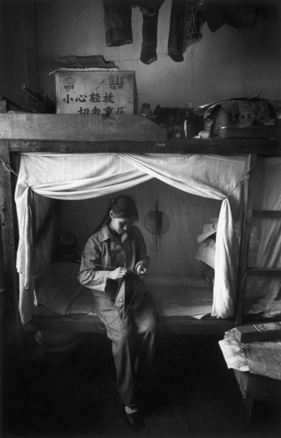 Marc Riboud, 'Worker in her dormitory, Kunming, ', 1965, Photography, Magnum Photos