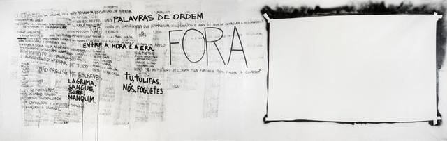 , 'Fora [Out],' 2014, Galeria Superfície
