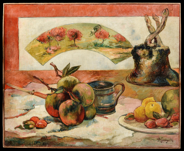 , 'Nature morte à l'éventail,' ca. 1889, RMN Grand Palais