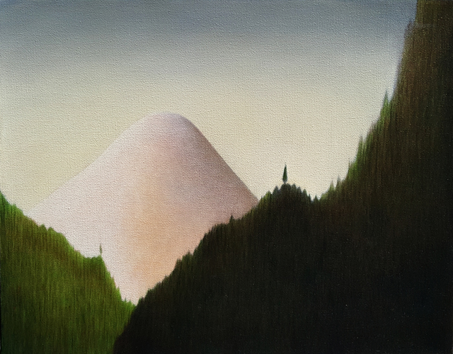 , 'Three Mountain Landscape 1,' 2008, Gallery Jones