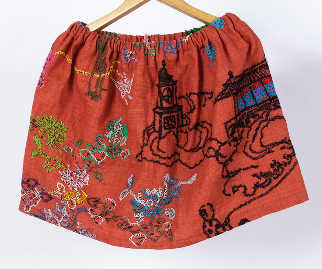 , 'Untitled (Tea Garden Embroidery),' 2018, Creativity Explored