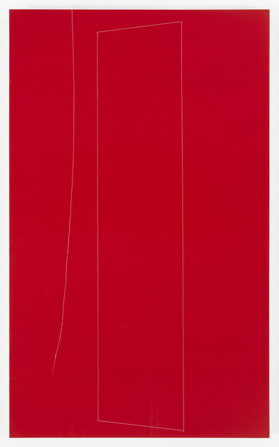 , 'Red Structure, Little Sister thread, 1,' 2016, Galerie Lelong & Co.