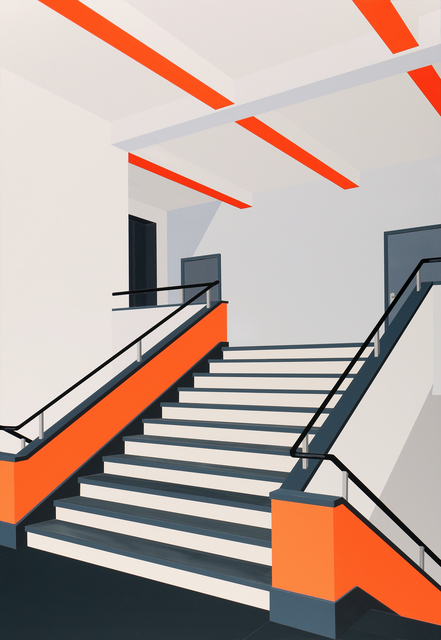 , 'Bauhaus (Orange),' 2018, Galleria Anna Marra