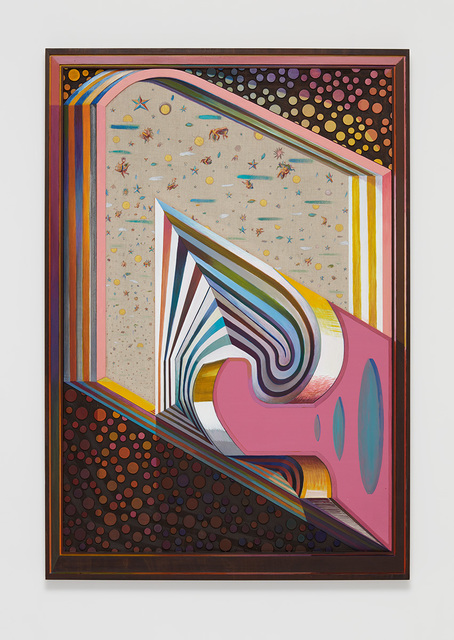 Zach Harris, 'Astral Projectors with Wallpaper', 2018-2019, David Kordansky Gallery
