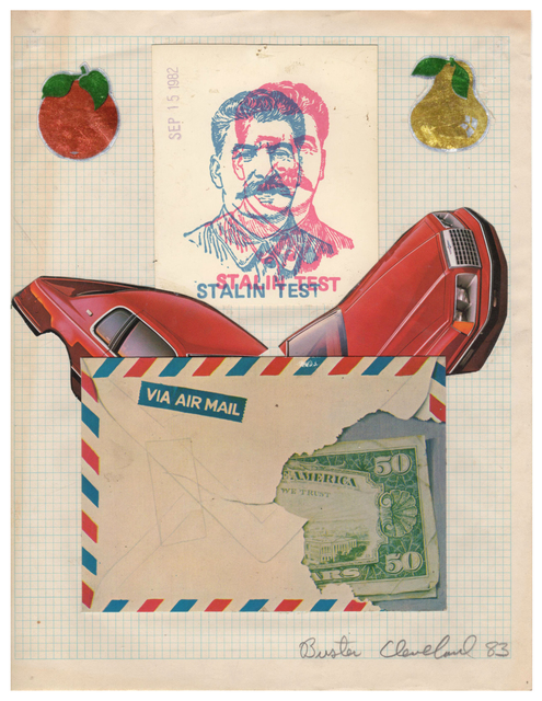 , 'Untitled (Stalin Test),' 1983, Pavel Zoubok Gallery
