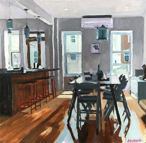 Aaron Hauck, 'Bushwick Apartment Kitchen', 2018, Deep Space Gallery