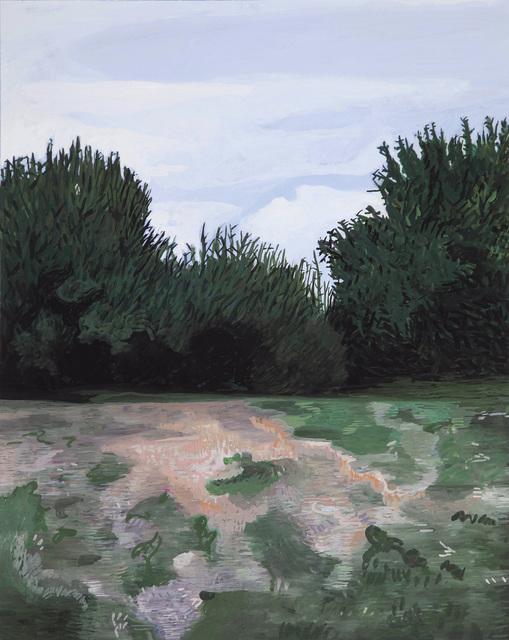Camille Brès, 'Soirée normande', 2020, Painting, Gouache on papier, Galerie Ariane C-Y