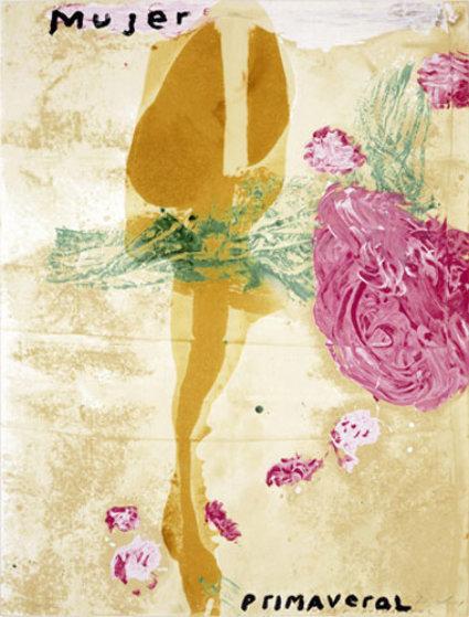 Julian Schnabel, 'Mujer', 1995, Kings Wood Art