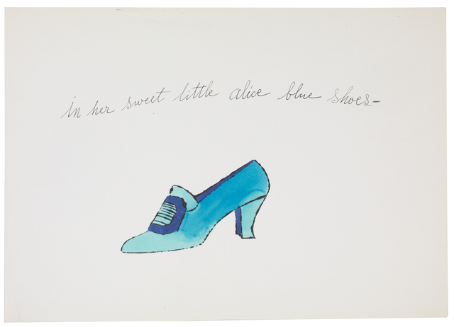 , 'In Her Sweet Little Alice Blue Shoes,' 1955, Susan Sheehan Gallery