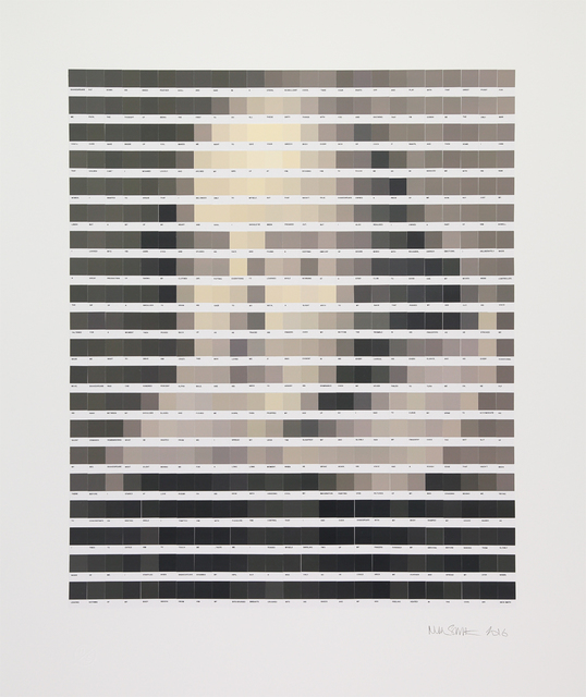 , 'Sepia Shakespeare,' 2016, Lawrence Alkin Gallery