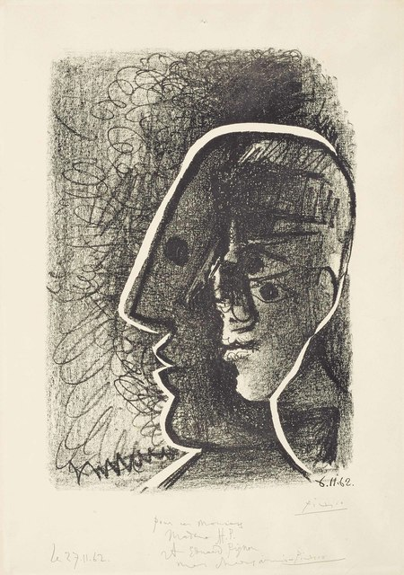 Pablo Picasso, 'Picasso from 1916 to 1961 (Heads of Picasso and Cocteau)', 1962, Christie's