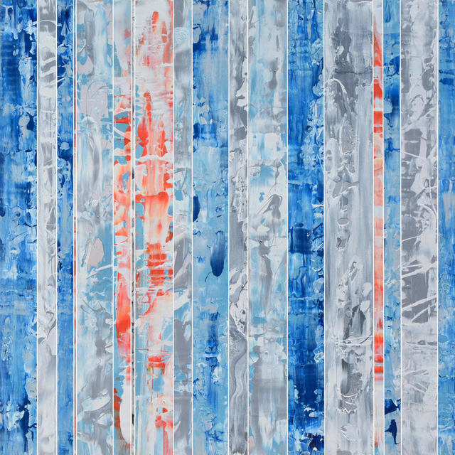 , 'Equanimity Expression Series, Blue Silver 18-1,' 2018, Pippin Contemporary