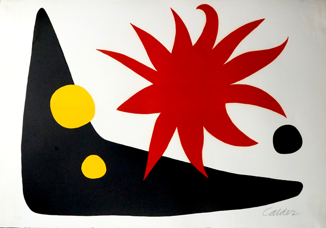 , 'The Red Sun (Le soleil rouge),' 1965, Pascal Fine Art