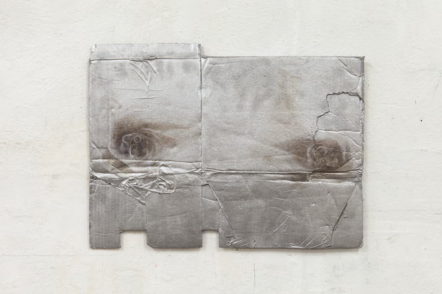 , 'Folded cardboard with rat-bite marks,' 2012, Mai 36 Galerie