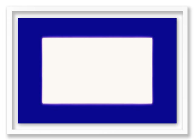 , 'White in Blue,' 2009, HackelBury Fine Art