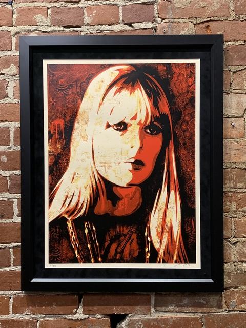 Shepard Fairey, 'Nico Canvas Print', 2010, Mason-Nordgauer Fine Arts Gallery