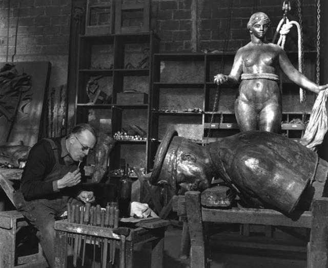, 'Midi a la Fonderie Rudier,' 1949, Holden Luntz Gallery