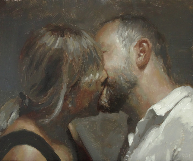 , 'Kiss,' 2017, KIRK Gallery