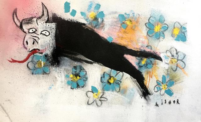 , 'Geurnica Bull,' 2017, Nanda\Hobbs