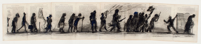 , 'Anatomy of Vertebrates (20 Procession Figures),' 1999, Goodman Gallery
