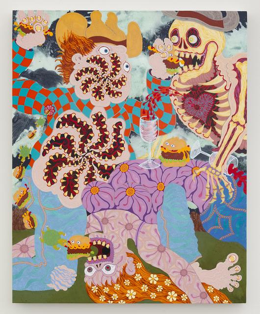 , 'Cheeseburger Cowboy,' 2017, Joshua Liner Gallery
