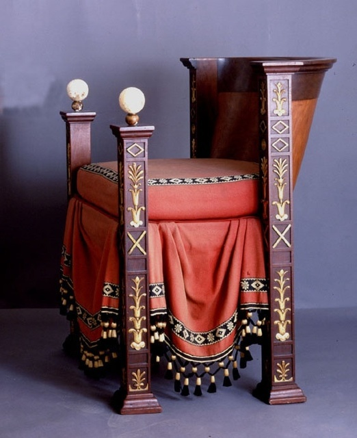 , 'An Empire Period Throne,' 1804, Robilant + Voena