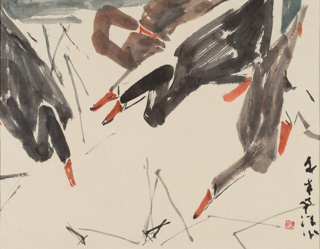 Chen Wen Hsi, 'Bathing Ducks', 33 Auction