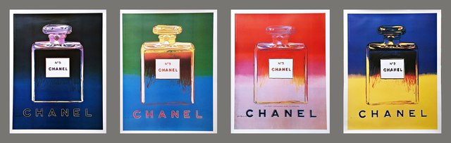 Andy Warhol, 'Chanel No. 5 (Suite of Four Individual Prints)', 1997, Alpha 137 Gallery