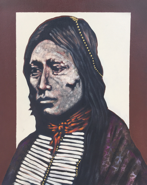 , 'Warrior Poet - Kiowa/Apache,' 2016, Modern West Fine Art