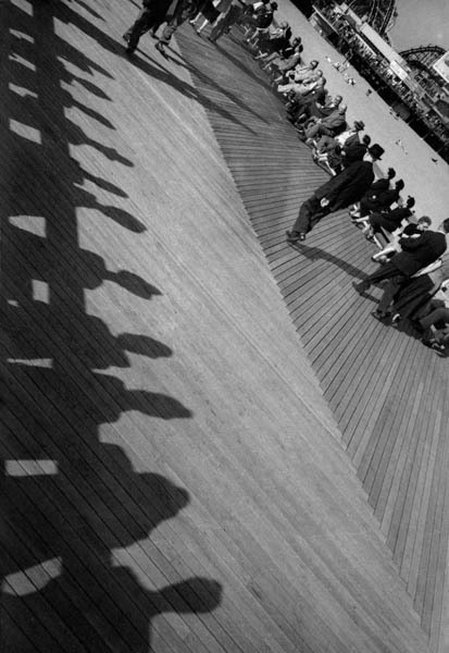 , 'Angled Pier with Shadows,' 1950, Galerie Thierry Bigaignon