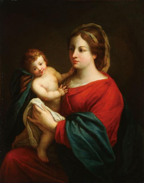 Pierre Mignard I, 'Virgin and Child', ca. 1650, Queen Fine Arts
