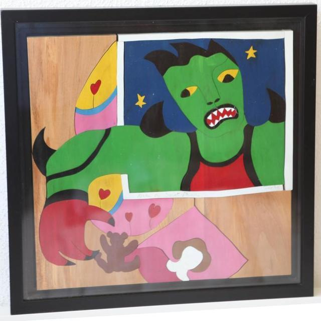 "Niki de Saint Phalle, 'Original Puzzle Sculpture ""Méchant Méchant Puzzle"" by Niki de Saint Phalle', 1995, Galerie Philia"