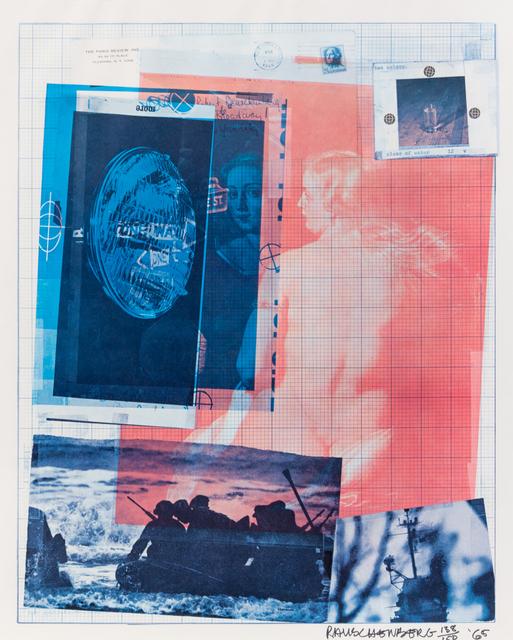 Robert Rauschenberg, 'The Paris Review', 1965, Print, Offset lithograph, Hindman
