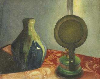 """""""Vase og lampe"""""""