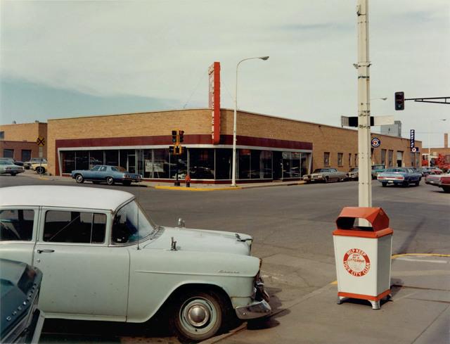 , 'Intersection: Main Street and Second Avenue, Valley City, North Dakota, July 12, 1973,' , Edwynn Houk Gallery
