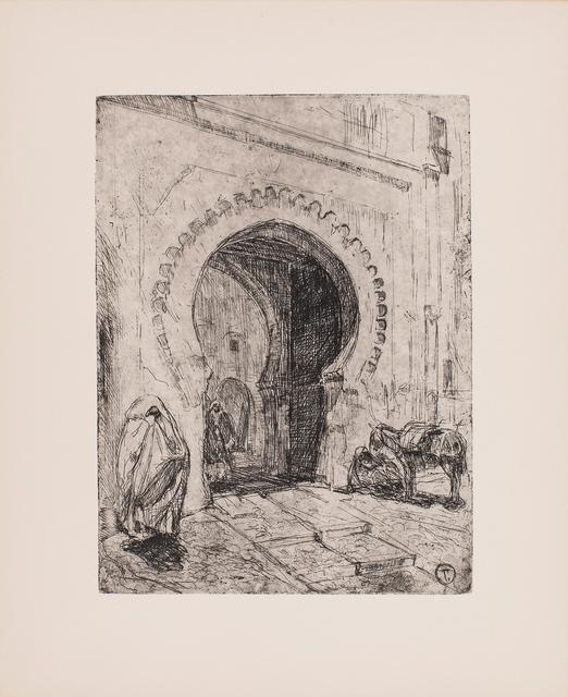 , 'Gate in Tangier,' 1912-1914, Michael Rosenfeld Gallery