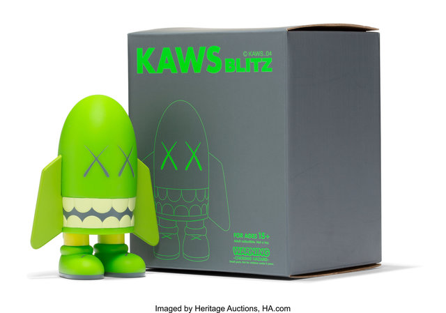 KAWS, 'Blitz (Green)', 2004, Heritage Auctions