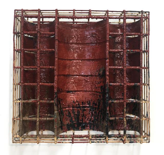 , 'Red oxide on black No. 2 ,' 2017, Tyler Rollins Fine Art