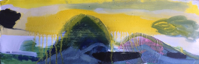 , 'A yellow place where the Curlews once piped an echo,' 2017, Gibbons & Nicholas