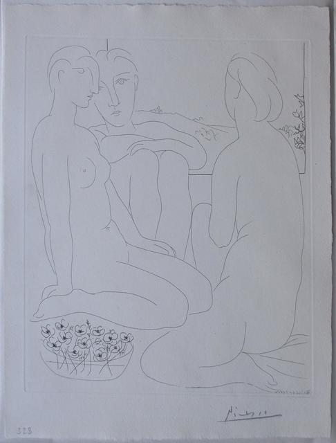 , 'Sculpteur, Modèle, et Sculpture Assise,' 1933, Galerie Philippe David