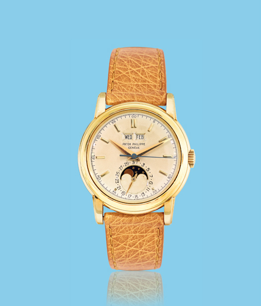, 'Yellow gold wristwatch, ref. 2438,' ca. 1950, Davide Parmegiani Fine Watches