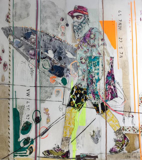 , 'Lacanau ,' 2017, Rebecca Hossack Art Gallery