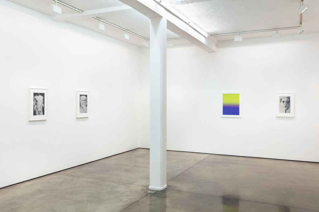 Planograph, James Welling exhibition view at Maureen Paley, London 2019