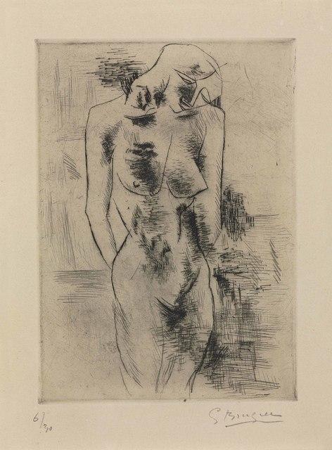 Georges Braque, 'Etude de nue (Nu)', 1907-08, Christie's